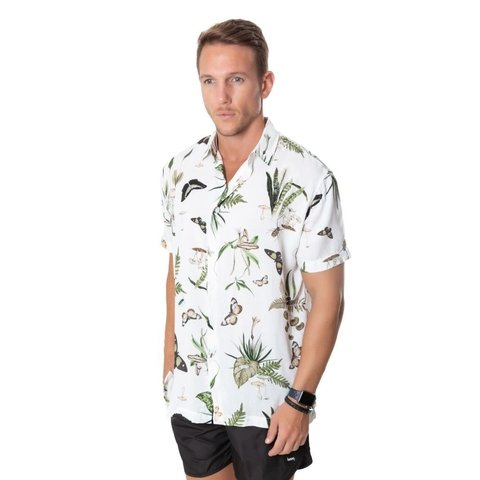 CAMISA CLASSIC MC FULLPRINT NATUREZA