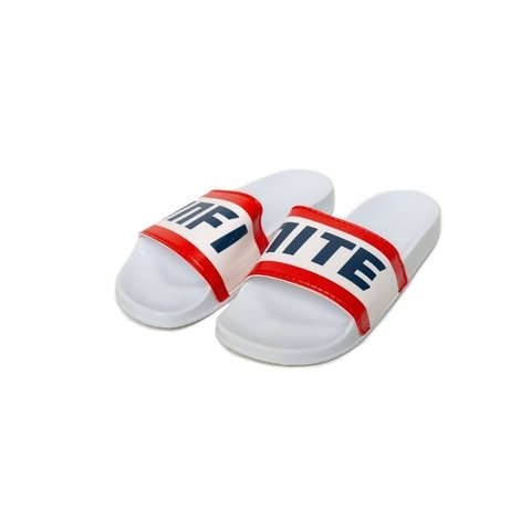 CHINELO SLIDE BRANCO RACING