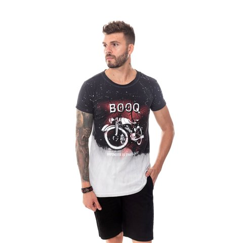 CAMISETA LONG TIE DYE MOTORCICLE