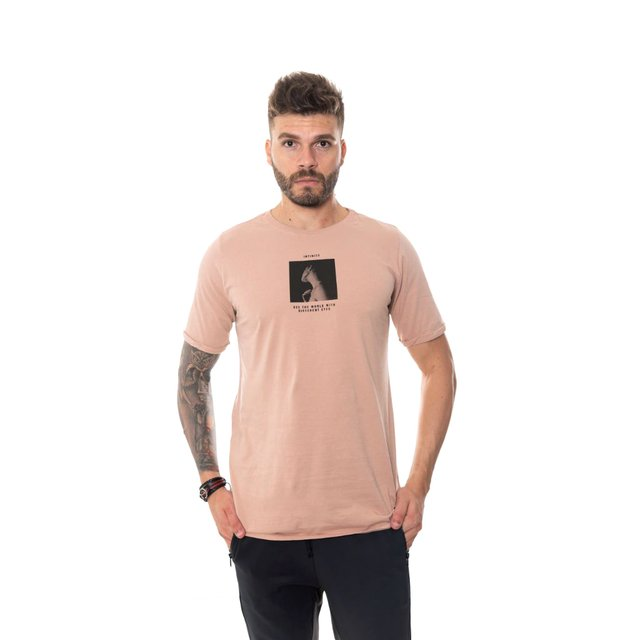 CAMISETA CLASSIC ROSE ESTAMPA