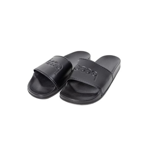 CHINELO SLIDE PRETO EMBOSSING