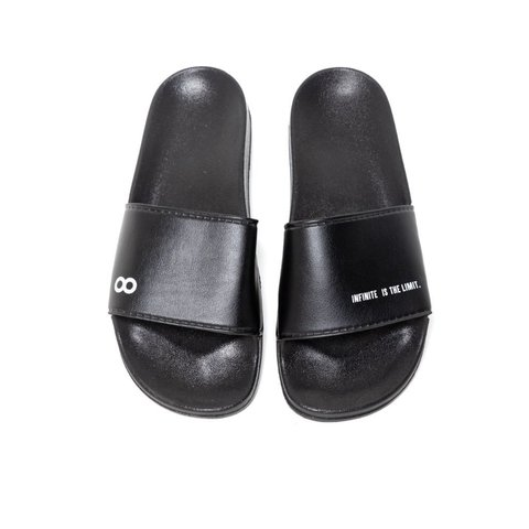 CHINELO SLIDE INFINITE PRETO