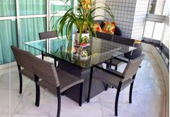 CONJUNTO MESA AZURRO BY HOUZZ MOBILE