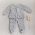 Woolen Gray Cloth Set 2 Pieces