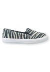 Tênis Slip On Iate Animal Print Zebra
