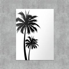 Placa decorativa Palm