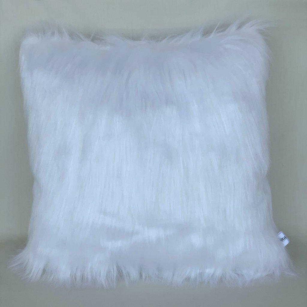 c79329d8fff1b4 Almofada Furry - Branco