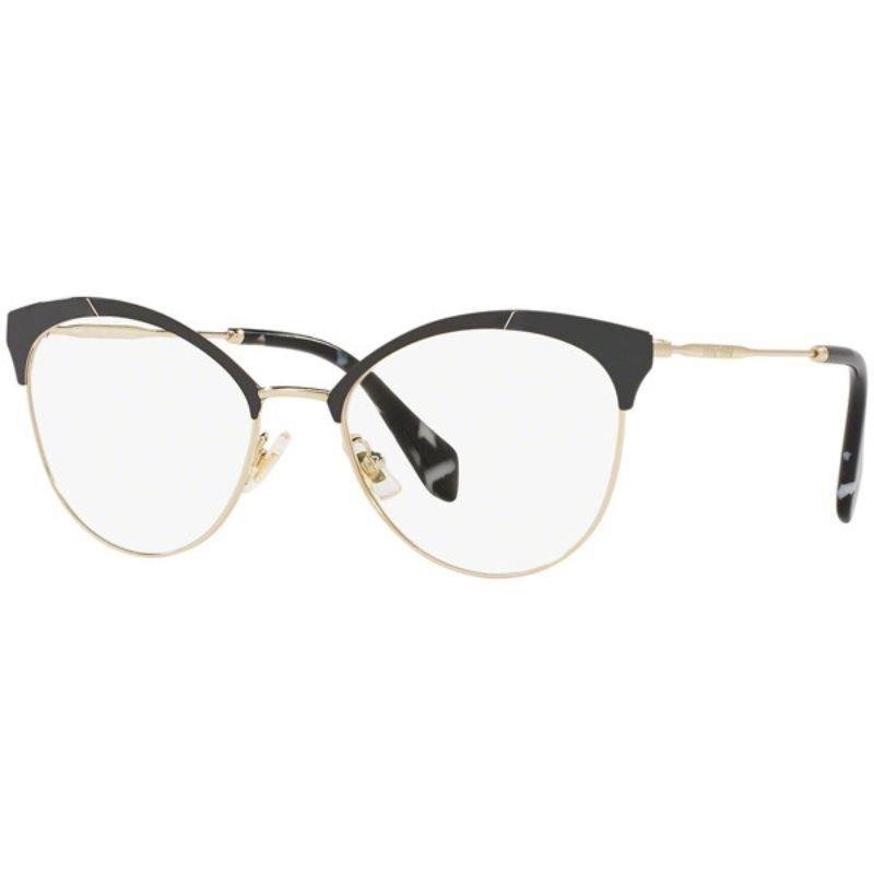 7203d92ef Óculos de Grau Miu Miu MU50PV 1AB1O1 - Indie Óticas