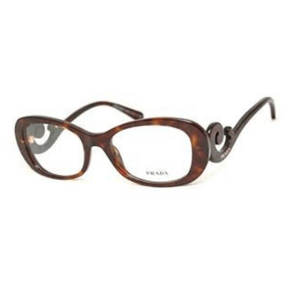 0ca8b3191 Óculos de Grau Prada PR09PVA Asian Fit 2AU1O1