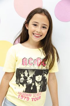 REMERA TEENS ACDC