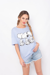 REMERA ESTAMPADA SNOOPY