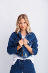 CAMPERA DE JEAN CON ROTURAS HONOLULU