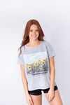 REMERA ESTAMPADA GIRASOLE BLOOM MOOD - comprar online