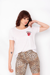 REMERA BORDADA THE ROLLING STONES ESCUDO
