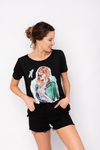 REMERA ESTAMPADA CHICA BLONDIE