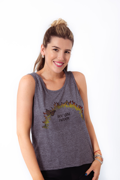 MUSCULOSA SEE YOU NEVER - comprar online