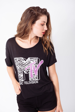 REMERA ESTAMPADA MTV