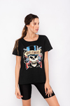 REMERA ESTAMPADA CALA GUNS & ROSES