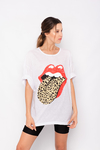 REMERON OVERSIZE THE ROLLING STONES ANIMAL PRINT