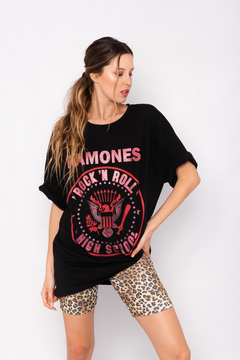 REMERON OVERSIZE RAMONES ROCK & ROLL