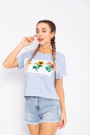 REMERA LIVE WILD FLOWER CHILI