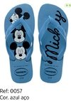 Havaianas Kids Top Disney Mickey Azul Original Chinelo Novo