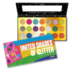 United Shades of Glitter - 21 Pressed Glitter Palette