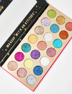 United Shades of Glitter - 21 Pressed Glitter Palette en internet