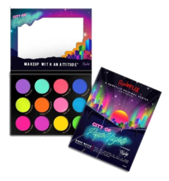City of Pastel Lights  12 Pastel Pigment & Eyeshadow Palette