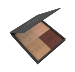 Paleta XL Idraet HIGHLIGHT & CONTOUR POWDERS - comprar online