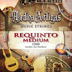 1300 ENCORDADO MEDINA ARTIGAS REQUINTO PLATEADO TENSIÓN MEDIA