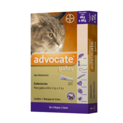 AntiPulgas Carrapatos Vermes Advocate gatos Bayer