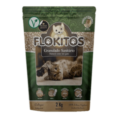 Flokitos Granulado Vegetal Gatos