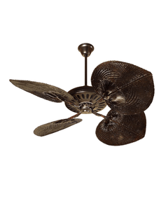 Casablanca style Fan dark chocolate color