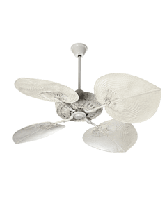 Casablanca rattan Fan White