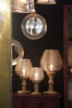 Agra table lamps - Desde Asia
