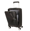Carry On American Tourister Curio Negro Cabina Front Open  USB