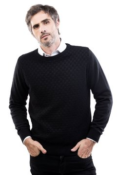 Sweater Robey Daniel Hechter classic fit cuello redondo