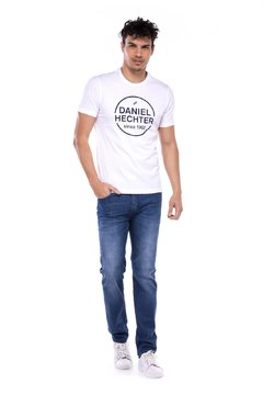 Remera Daniel Hechter Hart Slim Fit Estampada