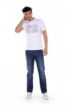 Remera Daniel Hechter Warsof Slim Fit Estampada