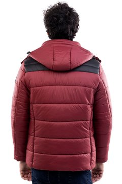 Campera Lyne Daniel Hechter matelasee con capucha