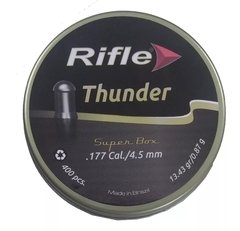 Kit 05 Chumbinho Rifle Thunder 4,5mm - 400 Unidades