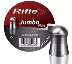 Chumbinho Rifle Jumbo Field 5,5mm Com 100 Unidades