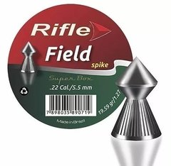 Chumbinho Rifle Field Spike 5,5mm Com 125 Unidades