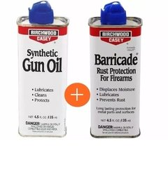 Kit Barricade Anticorrosivo + Gun Oil - Birchwood Casey