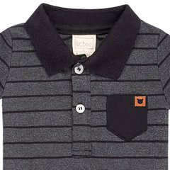 Imagem do Body Infantil Masculino Gola Polo - Luc.Boo