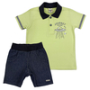 Conjunto Camiseta Polo e Bermuda  - Have Fun - Kids shop