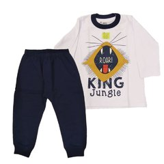 Pijama Infantil Masculino King Jungle - Have Fun