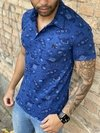 Camisa Polo Estampada