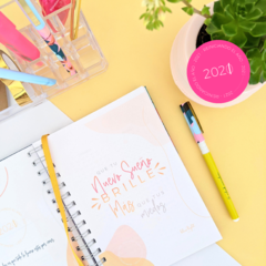 Agenda - No bad days. YELLOW. - tienda online